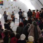 Καραβάνι αλληλεγγύης εκπαιδευτικών σωματείων στο Κομπάνι (Βίντεο και φωτογραφίες)