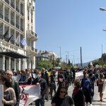 Κινητοποιήσεις 24ης Απρίλη ενάντια στο πολυνομοσχέδιο για την εκπαίδευση (Φωτορεπορτάζ και βίντεο)